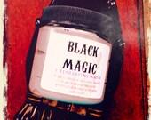 The Original Black Magic Exfoliating SCRUB- activated charcoal tea tree green clay face exfoliation 4oz jar