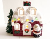 Light Up Holiday Christmas Santa House