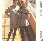 McCall's 5612 Wardrobe - Jacket, Top, Pants, Skirt sz 10 1991