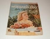 Womans Day Magazine, July 1956, Vintage Magazine, Art, Vintage Ads, Vintage Collectible, Scrapbooking, Vintage Fashion, Beauty, Home Ideas