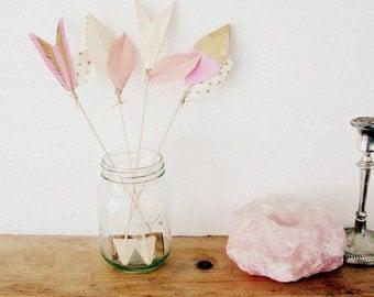 Decorative arrows, gift set, escort cards, place cards, home decor, wedding decor