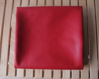 Special sale, Soft Lamb Leather Fabric in WINE, U1020