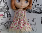 Roses & Pearls Dress Set for Blythe