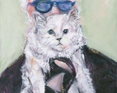 Choupette Note Cards: Set of Five Cards, Karl Lagerfeld Muse