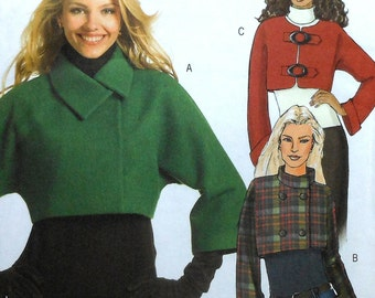 Jacket Sewing Pattern UNCUT Butterick B5089 Sizes 8-14
