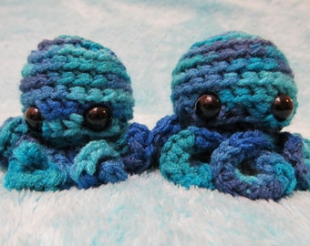 Crochet Octopus Cat Toy