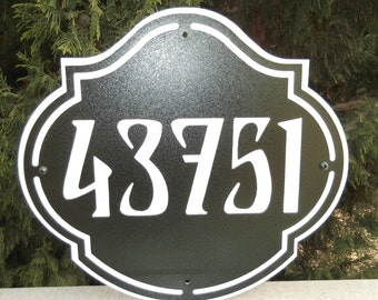 Address, Address sign, Wall plaque, House plaque, Street address, House number, Metal art, Name plate, Name plaque, Street number, custom.