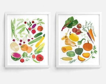 Summer to Fall - Set of 2 - 8 x 10 Prints