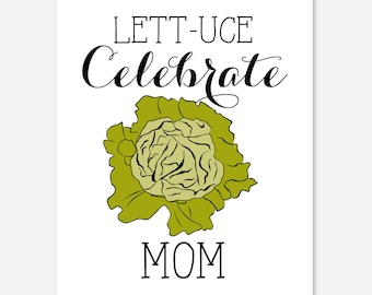 Celebrate Mom Funny Mother's Day Card