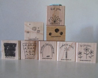 Stampin' Up Fun Filled rubber stamp set