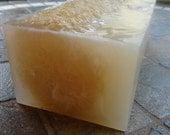 Honey Almond Loofah Soap Loaf