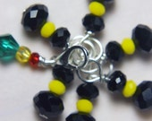House Sock: Batman and Robin Stitch Markers