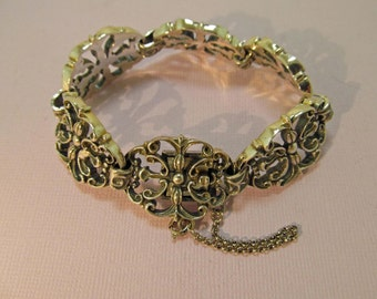 European 835 Silver Bracelet Ornate