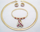 WoW  15 3/4 inch 6mm wide 14k gold omega / serpent collar necklace