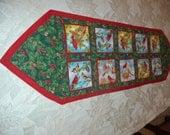 Christmas Cardinals  Table Runner
