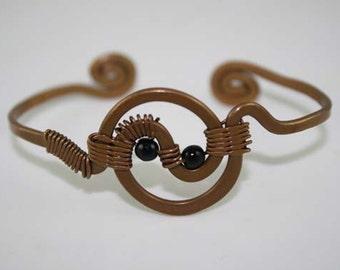 Vintage Handmade Copper Cuff