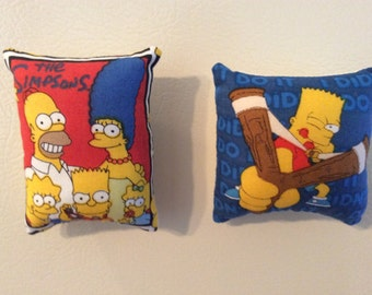 The Simpsons Pillow Magnets
