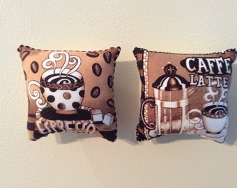 Latte Expresso Coffee Pillow Magnets