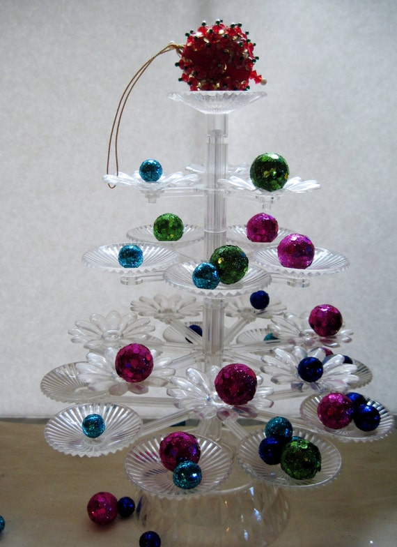 Plastic Christmas Tree Vintage Candy By Vintageexchange On