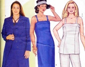 Plus Size Butterick 6953 Formal Dress and long Jacket