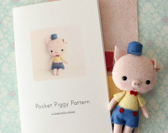 Pocket Piggy Pattern Kit
