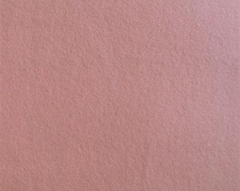 Organic Cotton FLEECE- Birch- PINK