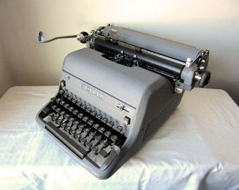 Rare Silver Royal HH Manual Typewriter - Burton - Professionally Serviced