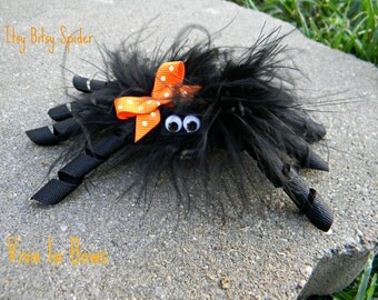 Sale!! Sale!!! The Original Itsy Bitsy Spider Halloween Hair Bow