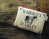 Whiskey Darlin Clutch Purse Made in Nashville Gift Rockabilly Country Music Horse Bridesmaid Bridal Party Southern
