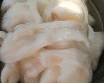 Natural White or Light Honey Tussah Silk Ashland Bay