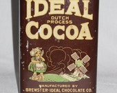 Vintage Ideal Cocoa Tin
