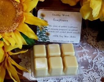 Sunflower Soy Melts, Sunflower Tarts, Fall Tarts