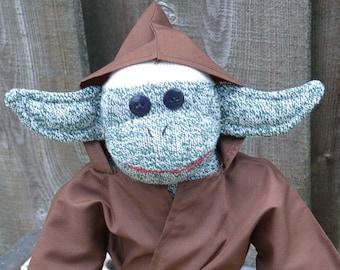 Jedi Master Sock Monkey, Star Wars Inspired