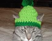 Handmade Crochet Santa Grinch Elf Cat Hat Cap Beanie