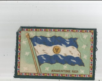 REDUCED Flags, Tobacco  Felts, Miniature