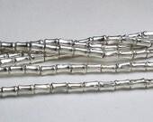4.4mm Karen Hill Tribe Drum Tube Beads 20 pcs. HT-173