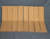 16 White Ash Knife Scales for Sale, Craft Wood, Knife Making, Handmade Supplies, Lumber, F421