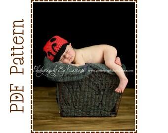 Ladybug Hat Crochet Pattern, 8 Sizes from Newborn to Adult, LIL' LADYBUG - pdf 125