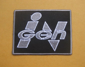 "Jurassic Park INGEN Patch Badge 7x8.5 cm 2.75""x3.1"""