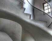 Gaudi Casa Battlo, staircase, spain, spanish architecture, modernism, spanish home decor, fine art photography spain, Gaudi photo, Barcelona