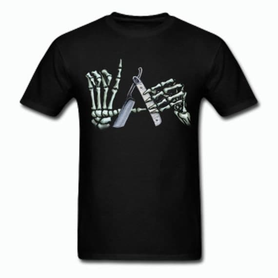 Los Angeles Skeleton Hands T Shirt