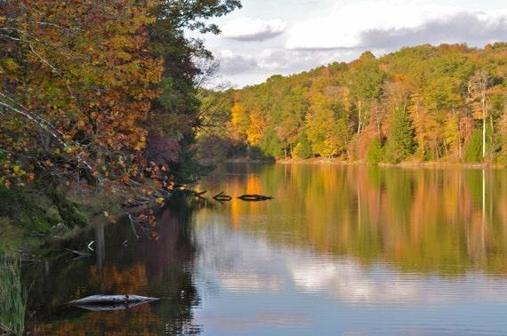 Fine Art Photo of Rose Lake, Hocking Hills State Park, Ohio