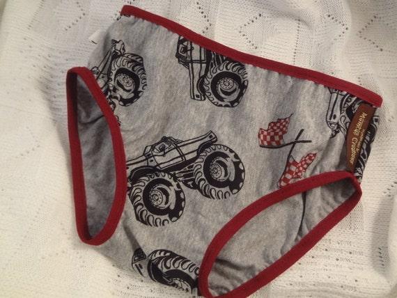 Cotton Toddler Boys Underwear Monster Trucks 2731
