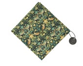 Pomp & Ceremony Pocket Square handkerchief Liberty of London Strawberry Thief (F)