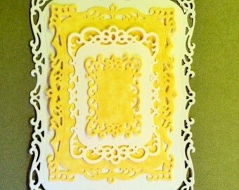 Spellbinder Nestabilities Decorative Labels 8 - Cards - Tags-16 Pieces