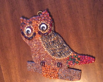Woodland Owl Wallhanging