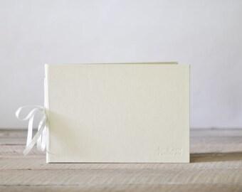 Wedding Guest Book, photo guestbook or wedding album - Personalized Artisan Album