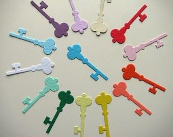 25 Seed Paper Skeleton Keys