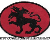 Greek Mythology Cerberus Patch