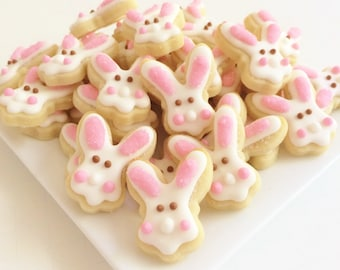 Easter Bunny Cookies Minis Style 2 (1 pound)